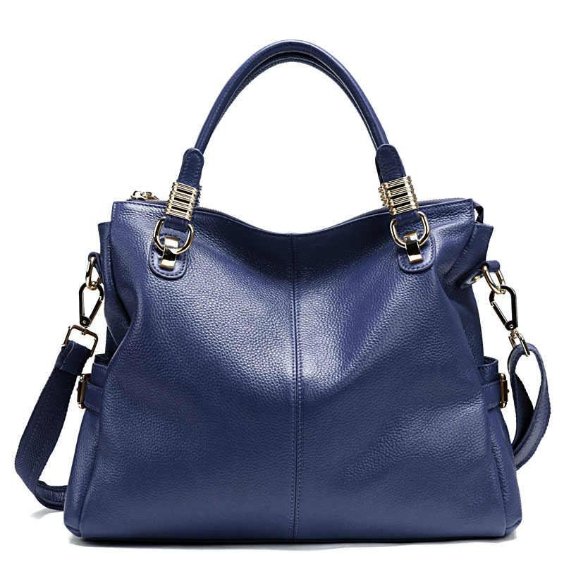 Высококачественные сумки на плечо женские известные бренды из натуральной кожи модные женские большие сумки-мессенджеры bolso 2017