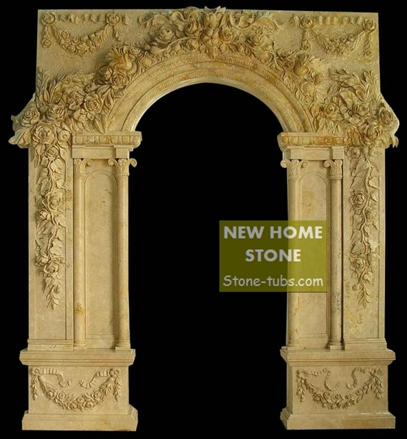 Limestone Door Surrounds Fancy Classical Framed Art Designer Stone Door Surrounds Beige Limestone Door with Hand  sc 1 st  AliExpress.com & Limestone Door Surrounds Fancy Classical Framed Art Designer Stone ...