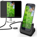 BrankBass S4 HDMI Docking Station Charging Cradle For Samsung Galaxy S4 Portable Docking Station With HDMI HDTV