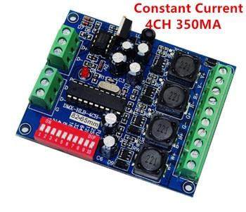 1 pcs DC5-36V Constant Current DMX-HLB-4CH-350MA RGBW 4CH dmx decoder DMX512 Controller For led strip lights led lamp modules цена 2017