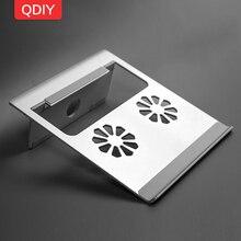 QDIY Notebook Folding Heat Sink Apple MAC Heightening Radiator Desktop Aluminum Base