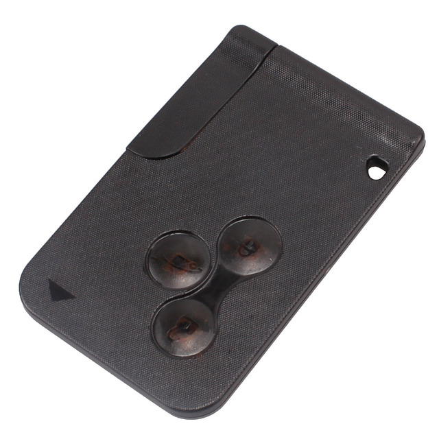NEW 3 BUTTON REMOTE ALARM KEY CARD FOB FOR RENAULT MEGANE