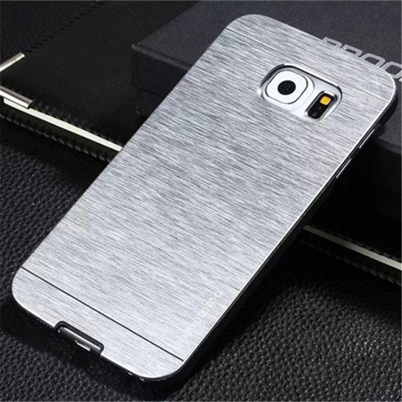 brand new 6bf04 845f3 US $557.0 |500pcs motomo Hybrid aluminum and plastic for samsung galaxy s7  edge / s7 brushed hard case shock proof phone covers on Aliexpress.com | ...