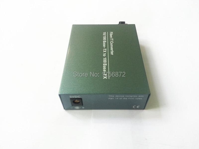 10 / 100M Transceptor óptico de conversor de mídia de fibra de - Equipamento de comunicação - Foto 5