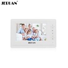 JERUAN 7 дюймов видео телефон двери дверной звонок видео домофон системы 714 Крытый+ адаптер питания