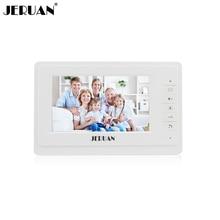 JERUAN 7 inch video door phone  doorbell video door phone intercom system 714 indoor + power adapter free shipping