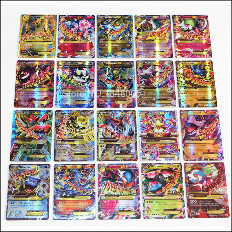 Image 4 - 200 Pcs GX EX MEGA pokemones Cards Game Battle Carte 324pcs Trading Cards Game Children Toy-in Game Collection Cards from Toys & Hobbies