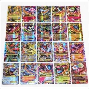 Image 5 - 200 Pcs GX EX MEGA pokemones Cards Game Battle Carte 324pcs Trading Cards Game Children Toy