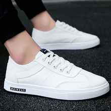 Canvas sneakers white shoes men flat comfortable Casual vulcanized