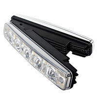5 LEDs Car Styling Universal Daytime Running Light DRL External Lights Car Lights Daylight
