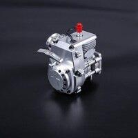 CNC R320 32cc 2 ход газа 4 болт двигатель fit 1/5 масштаба Радиоуправляемый транспорт HPI LOSI FG Rovan King motor рыжий кот Baja
