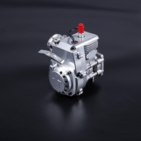 CNC R320 32cc 2 stroke gas 4 bolt motor engine fit 1/5 Scale RC vehicles HPI LOSI FG Rovan King Motor Red Cat Baja