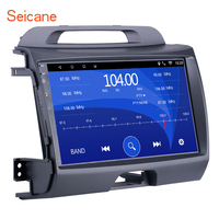 Seicane 9 inch Android 6.0 Car Radio GPS Navi Audio Unit Player for 2010 2011 2012 2015 KIA Sportage with Bluetooth Mirror Link