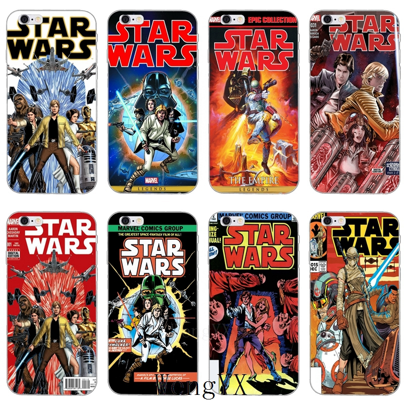 star wars marvel comics poster Ultra Thin TPU Soft phone cover case For Samsung Galaxy J1 J2 J3 J5 J7 A3 A5 A7 2015 2016 2017 image