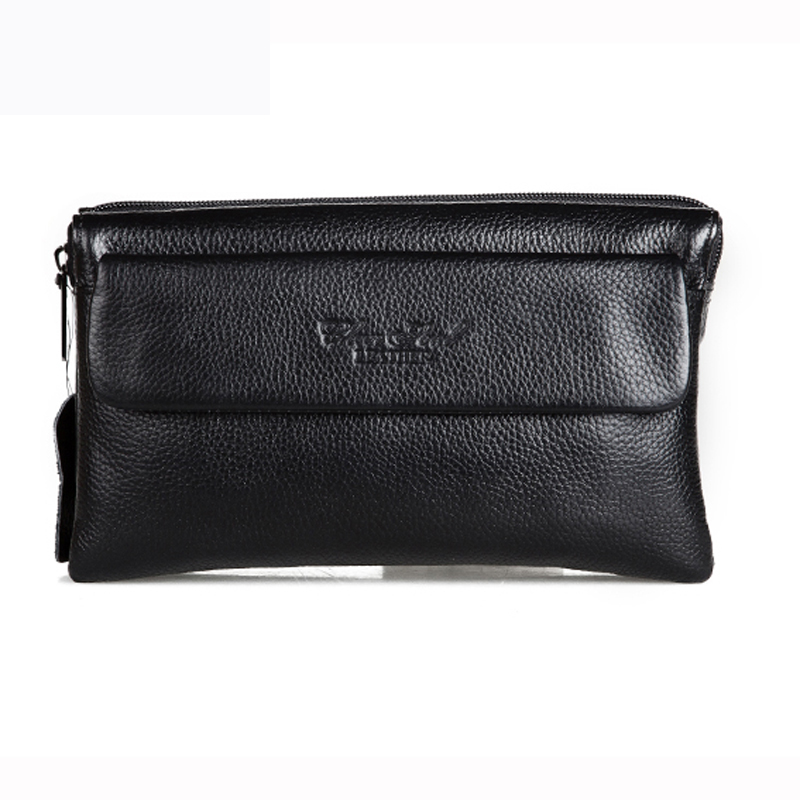 CHEER SOUL Men Wallet Luxury Long Clutch Handy Bag Moneder Male Genuine Leather Purse Men's Clutch Bags carteira Masculina cheer