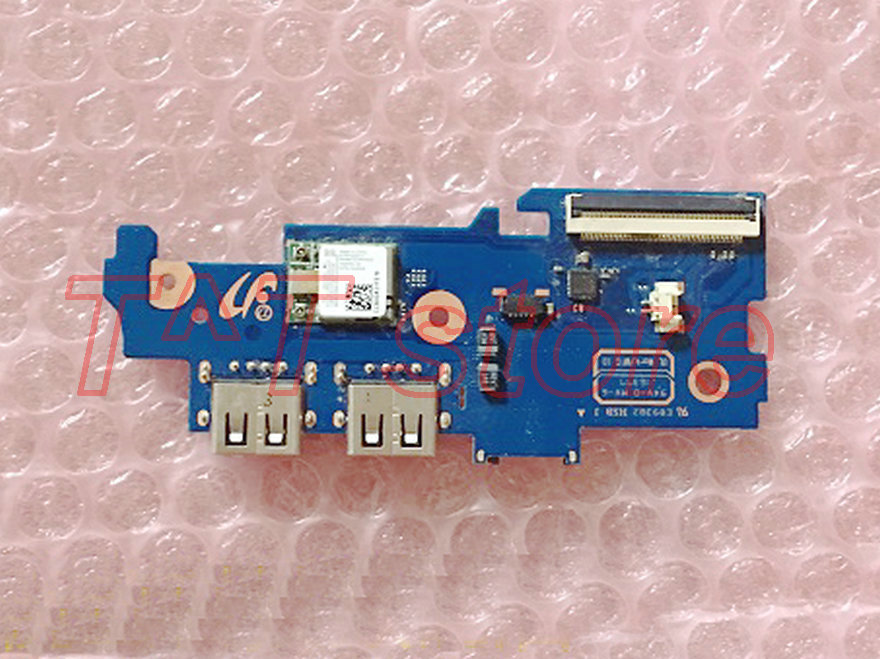 original for 500R3M NP500R3M power botton USB board test good free shipping original for vostro 5568 power botton usb vga card reader board ls d821p test good free shipping