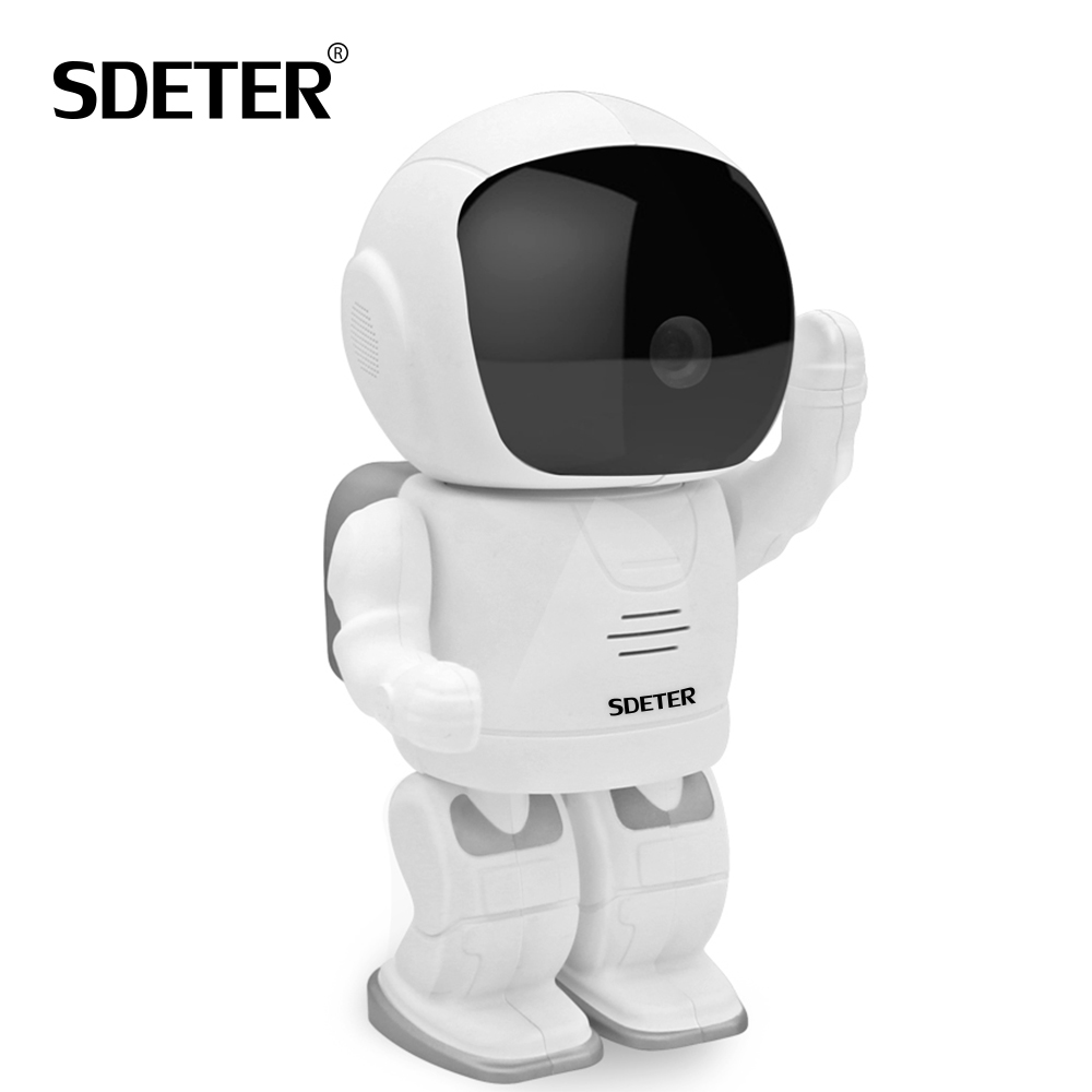 SDETER HD 960P Robot CCTV Camera Wireless IP Camera Wifi Home Surveillance Security Cameras Baby Monitor IR Night Vision P2P Cam wifi ip camera 960p hd ptz wireless security network surveillance camera wifi p2p ir night vision 2 way audio baby monitor onvif