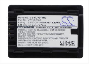 Cameron Sino 3000mAh battery for PANASONIC HC-250EB HC-550EB HC-727EB HC-750EB HC-770EB HC-989 HC-V110 HC-V110GK HC-V110MGK фото