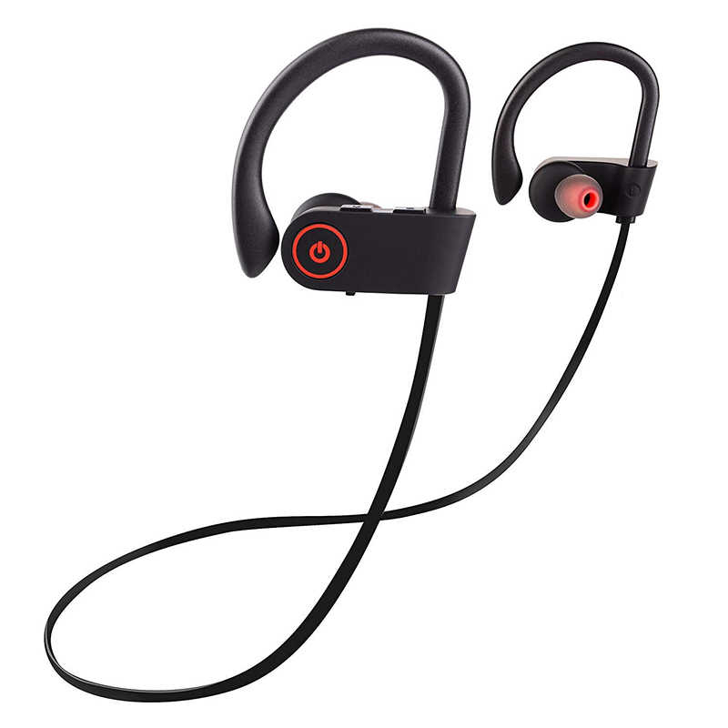 Bluetooth наушники Водонепроницаемая беспроводная гарнитура наушники спортивные бас наушники bluetooth наушники для iPhone X MAX xiaomi