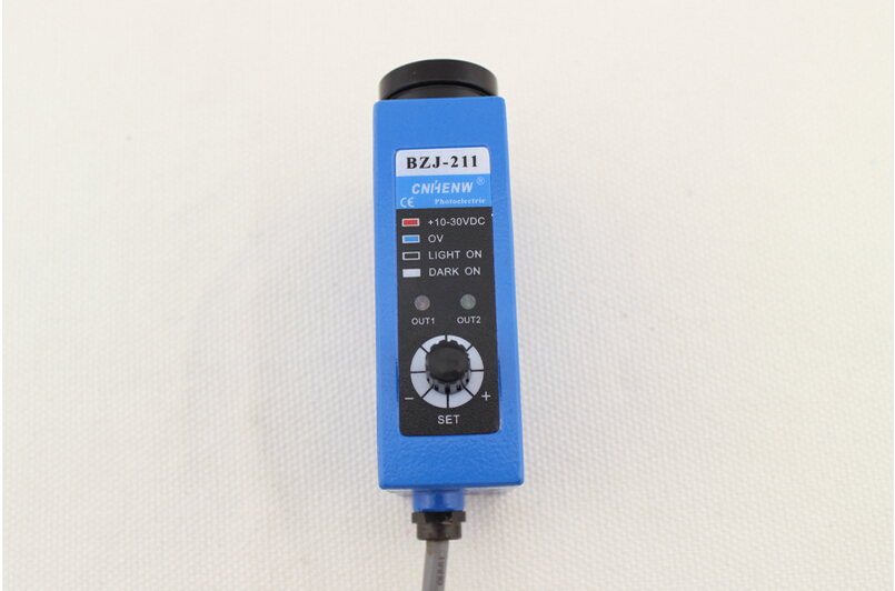 BZJ-211G NON Photoelectric switch color sensor colour sensor switch transducer