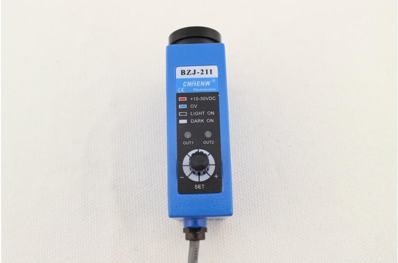 BZJ-211G NPN Photoelectric switch color sensor colour sensor switch transducer цена