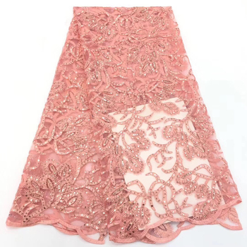 New Arrival high quality african cord lace fabric,chemical lace water soluble guipure lace fabric for wedding  CD30