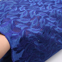 African Lace Fabric African Swiss Voile Lace High Quality 5yards 1pcs With Stones Swiss Cotton Voile