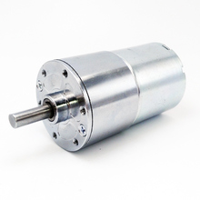 FreeShipping 12VDC gear motor Dameter 37mm 15RPM Eccentric Shaft Output Permanent Magnetism all steel-gear ZGB37RG314i15RPM