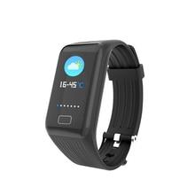 ФОТО x1plus smart bracelet band blood pressure blood oxygen heart rate sleep health monitoring 0.96 colorized screen wristband watch