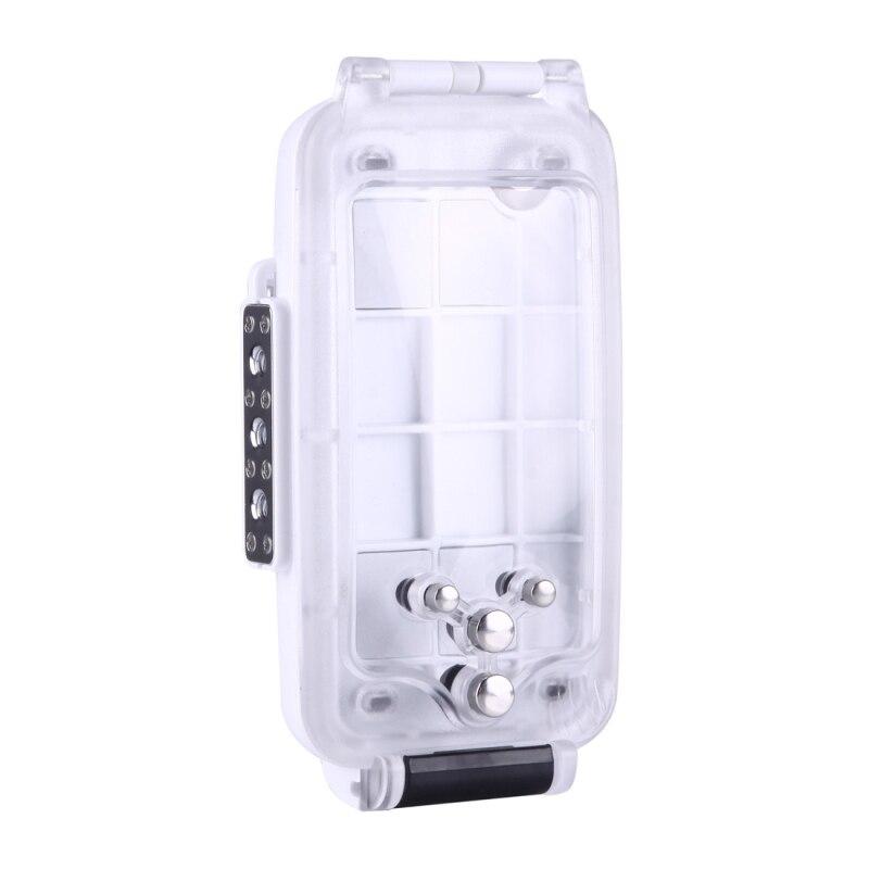 Voor iPhone 8 Plus Case Water Proof Onderwater 40m Waterdichte Duiken Behuizing PC + ABS Beschermhoes Voor iPhone 6s Plus 7 Coque - 4