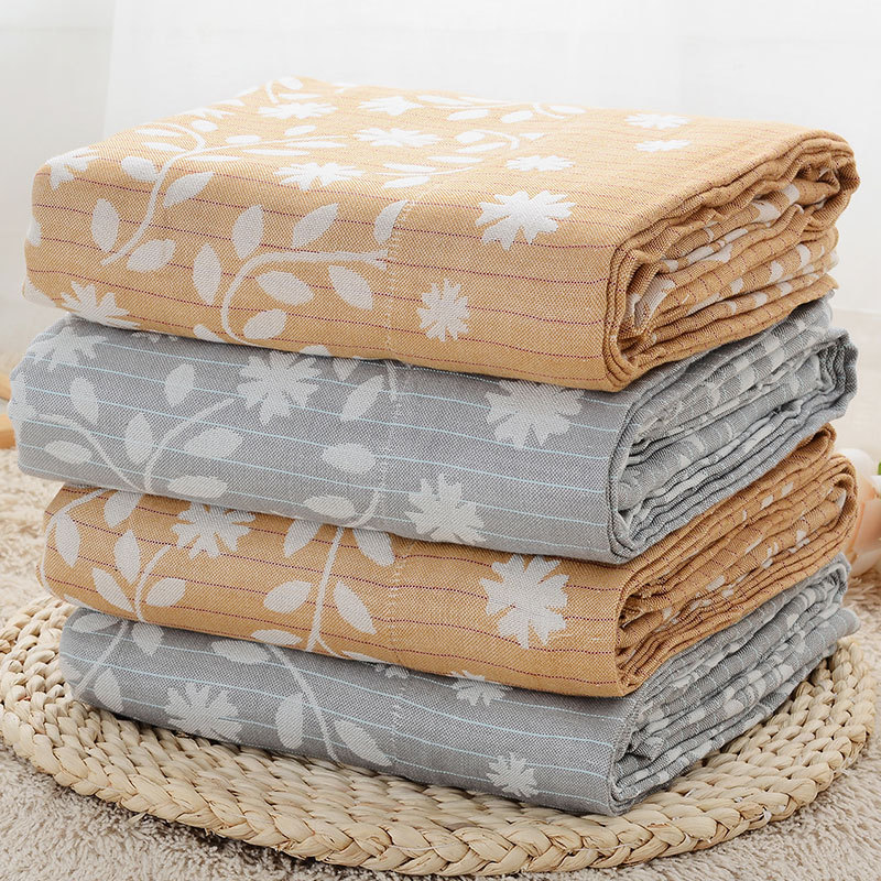 New Summer Air Conditioning 100% Bamboo Fiber Blanket 150X200CM Bed Sofa Travel Breathable Large Soft Throw Blanket Para Blanket