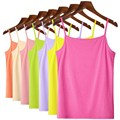 New Women Summer Tank Tops Ladies Sleeveless Solid Color Basic T Shirt Vest Tops Hot