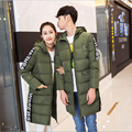 Womens Winter Jackets And Coats Real Winter Solid Zipper Thick Full 90% 2016 New Couple Female Long Slim Down Jacket Thickness