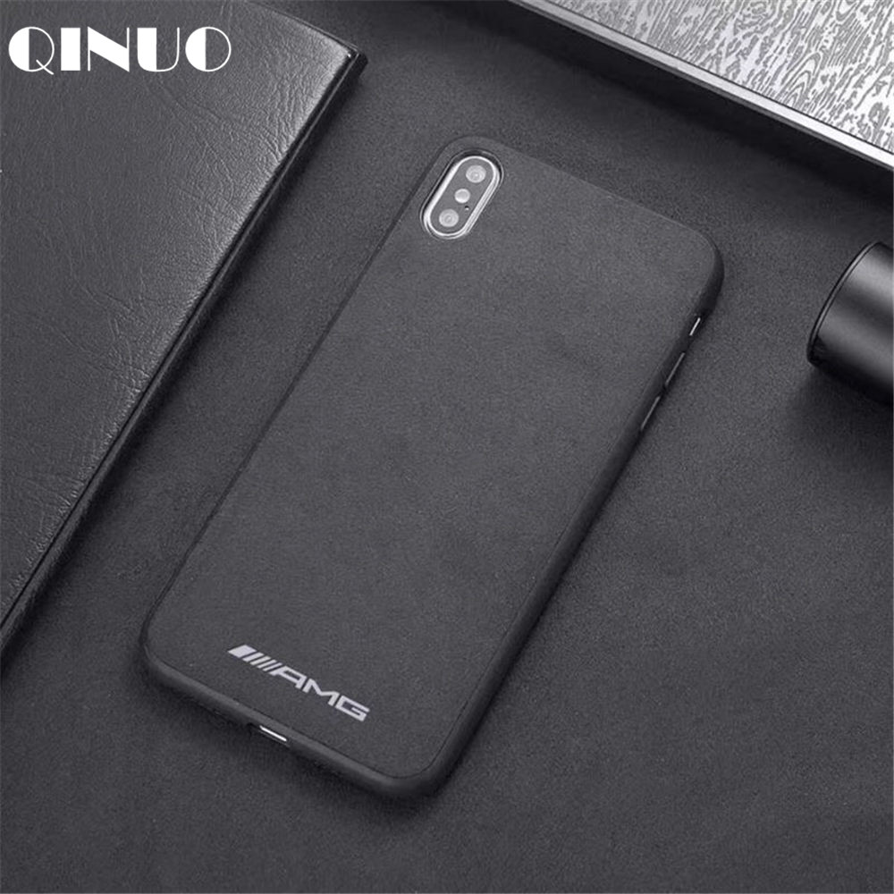7aee6431be US $1.96 20% OFF|QINUO Motorsport AMG GTR BMW Suede Case For iPhone XS Max  XR X 6 6S 7 8 Plus Supercar LOGO Fur Batman Telefon Kilifi Cover Coque-in  ...