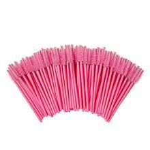 1000PCS Eyelash brushes Makeup Disposable Mascara Wands Applicator Spoolers Eye Lashes Cosmetic Brush Tools