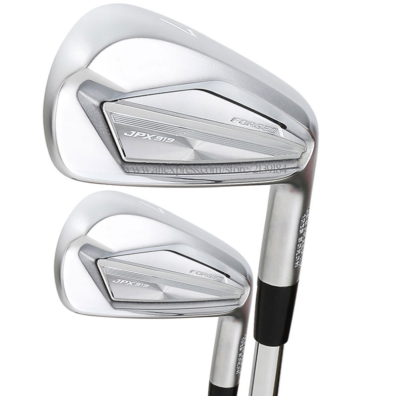 Cooyute New Golf Clubs JPX 919 FORGED Golf Irons 4-9PG Clubs Irons Set Steel Or Graphite Shaft And Golf Grips Free Shipping