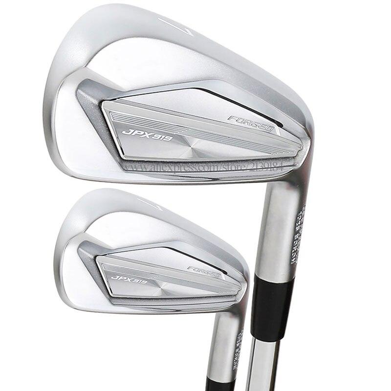 Cooyute nouveaux Clubs de Golf JPX 919 forgé fers de Golf 4-9PG Clubs fers ensemble acier ou Graphite arbre et poignées de Golf livraison gratuite