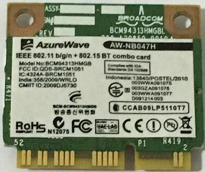 BROADCOM BCM4313 WLAN COMBO CARD WINDOWS 10 DOWNLOAD DRIVER