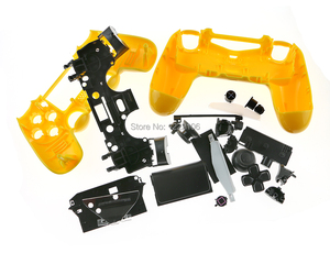 Image 4 - 1set JDS 001 JDM 011 colorful Shell case with Button Kits for PS4 Playstation 4 V1 Controller Housing Shell Case Cover