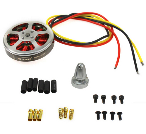 <font><b>5010</b></font>-350KV <font><b>Brushless</b></font> Disk <font><b>Motor</b></font> high Thrust With Mount For Octacopter Hexa Multi Copter Aircraft image