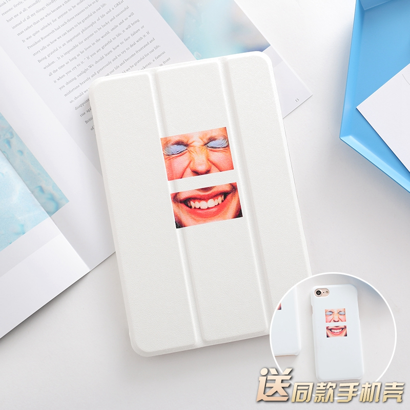 SmileFACE Mini4 Mini2 Mini3 Flip Cover For iPad Pro 10.5 9.7 2017 Air Air2 Mini 1 2 3 4 Tablet Case Protective Shell 10.5 9.7 for ipad mini4 cover high quality soft tpu rubber back case for ipad mini 4 silicone back cover semi transparent case shell skin