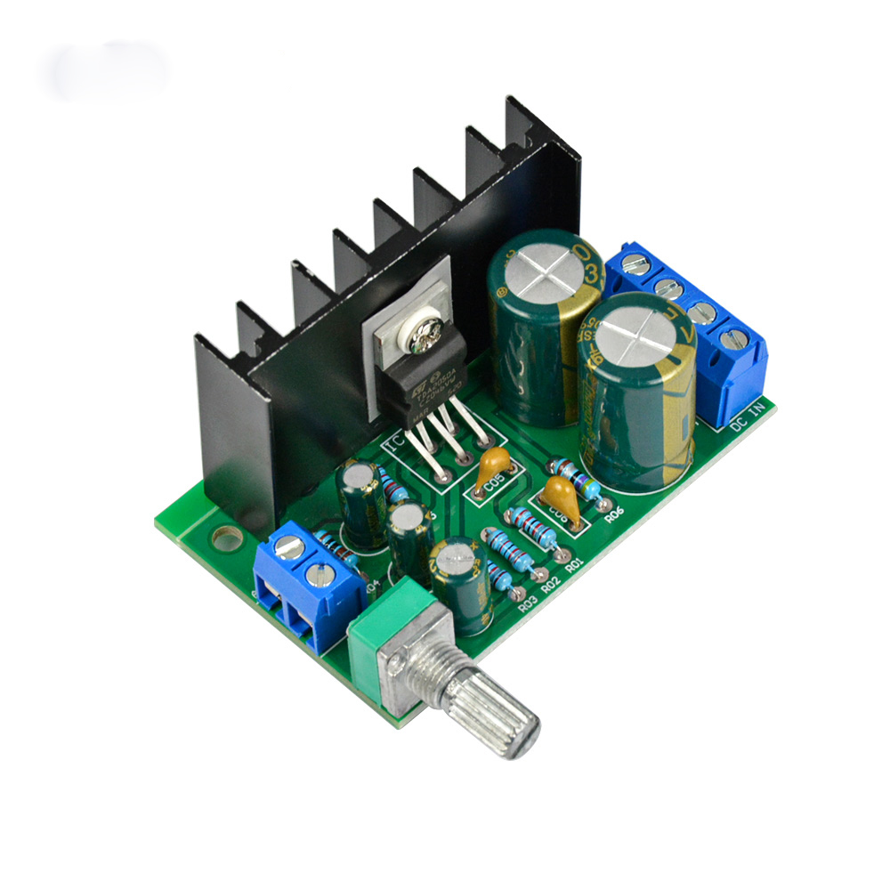 AIYIMA Audio Amplifier Board TDA2050 Mono Audio Power Amplifier Module 5W-120W 1-Channel Single Power Supply 12-24V