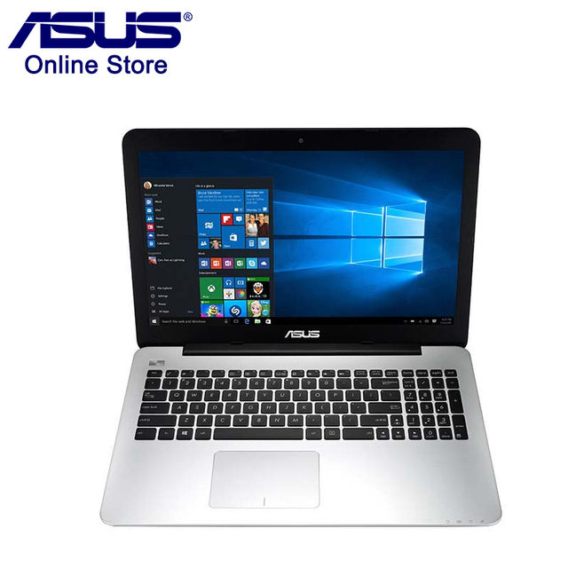 "Original Asus A555BP Laptop 4GB RAM 128GB ROM 15.6"" 1366x768 Intel 2.0GHz OEM Windows 10 VGA Dedicated Card Notebook Computer"