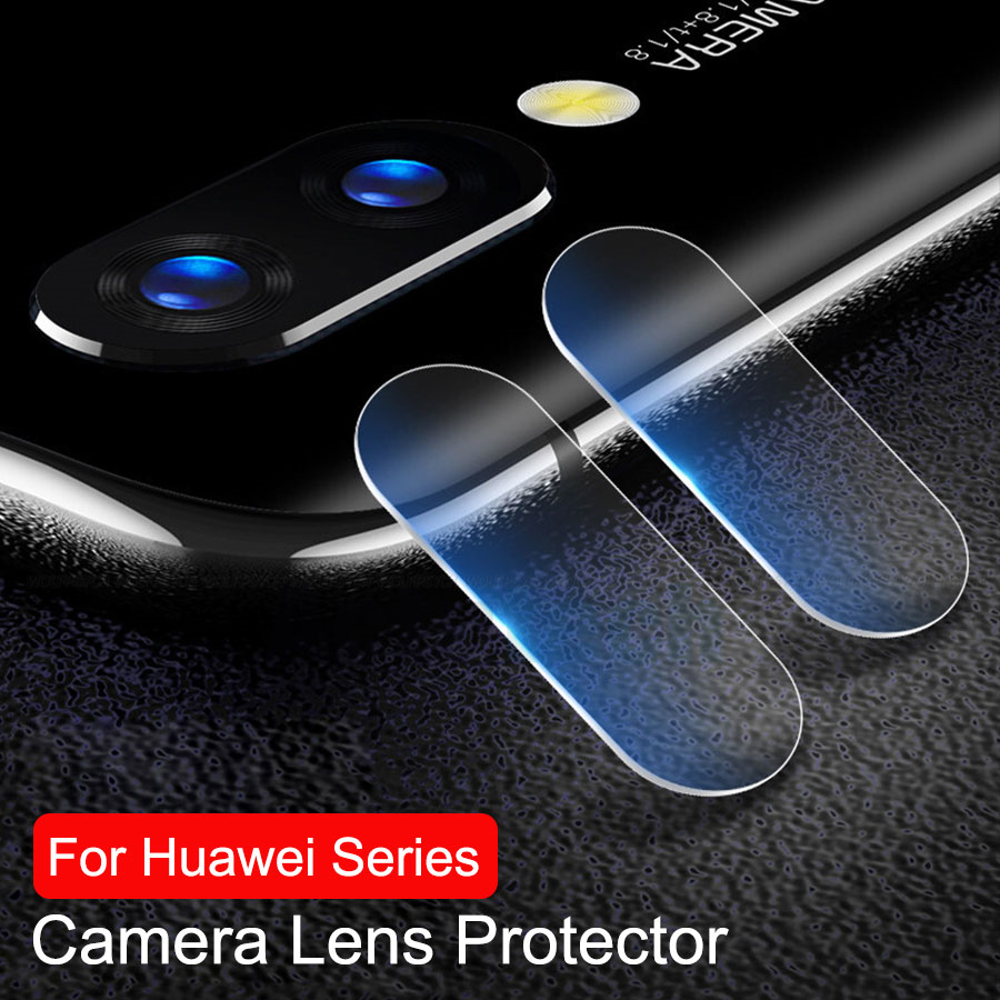 2pcs / Lot Tempered Glass Camera Lens For Huawei Honor Vista 20 Nova 4 3 P Smart 2019 Plus Mate 20 Lite P30 Pro X Lens Protector
