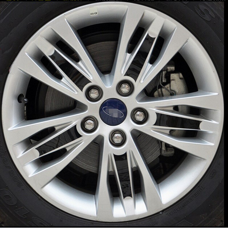 Discount Tire App >> Car stying Car Wheel hubs PC sticker Tire Sticker For Ford Focus 2012 2014 2015 3 Car ...