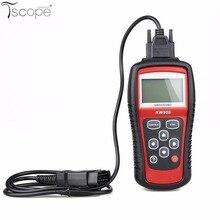 Igual que el KW808 MS509 EOBD OBDII 2 probador de Diagnóstico Del Motor Del Coche Escáner Lector de Código de Herramienta de trabajo para EE.UU./Asia/vehículos europeos