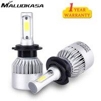 MALUOKASA H4 H7 H11 H1 H13 H3 9004 9005 9006 9007 9012 880 881 COB LED
