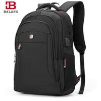 BaLang 15 6 Inch Men Laptop Backpacks For Teenager Large Capacity Fashion Male Mochila Leisure Travel