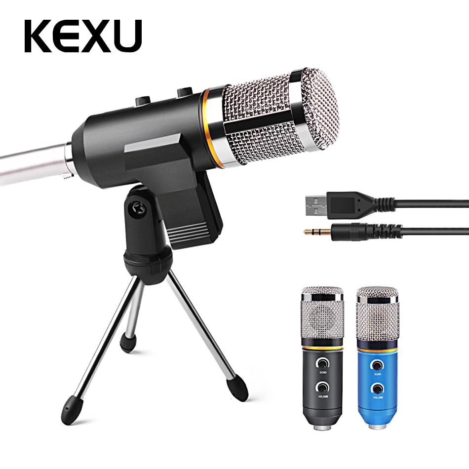 все цены на MK-F200TL Professional Microphone USB Condenser Microphone for Video Recording Karaoke Radio Studio Microphone for PC Computer онлайн