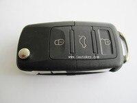 3 Botão do Controle Remoto Chave do carro auto com Lâmina Em Branco + ID48 1J0 959 753 AH Para Skoda VW VOLKSWAGEN Assento de CHIP 434 MHz
